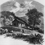 Mountain House, North Fork, 1851, William Patton.