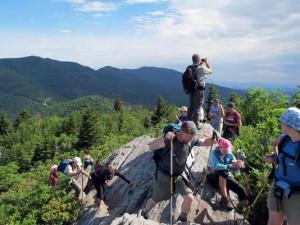 Swannanoa Rim Hikers by Joe Standaert