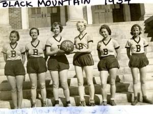 BMHS 1934 basketball womens