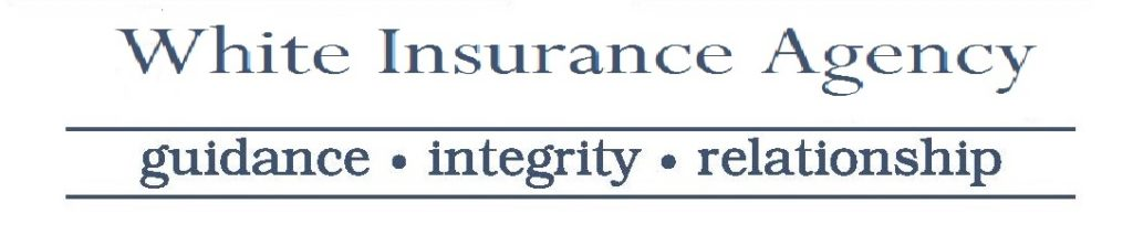 White Insurance Agency Logo