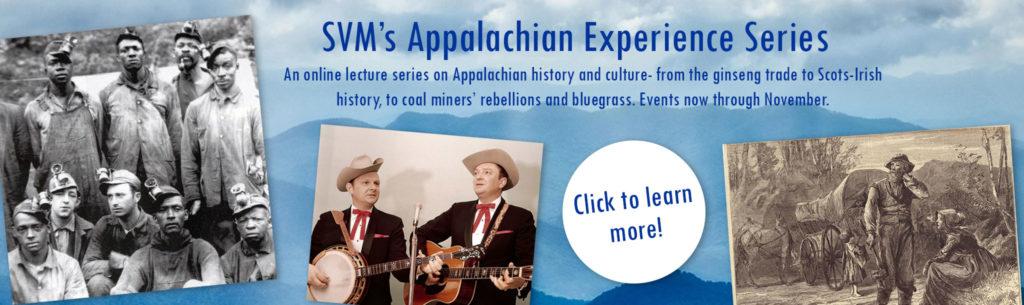 Appalachian Experience series banner