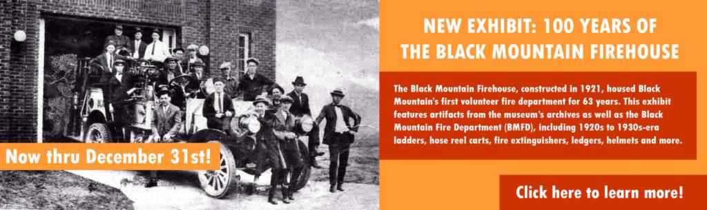 black mountain firehouse banner
